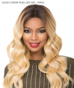 Sensationnel SWISS SILK BASED Human Hair Blend Lace Front Wig- CLOUD 9 DREAM MUSE SERIES MARIA