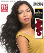 Sensationnel  Remi Human Hair Weave Extention - EMPIRE BODY WAVE 10