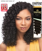 Sensationnel  Remi Human Hair Weave Extention - EMPIRE DEEP WAVE 10