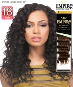 Sensationnel  Remi Human Hair Weave Extention - EMPIRE LOOSE DEEP 18