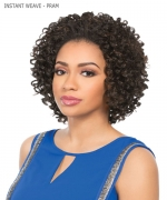 Sensationnel 100% PREMIUM FIBER Synthetic Half Wig - INSTANT WEAVE -PRAM