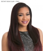 Sensationnel  Synthetic Half Wig - INSTANT WEAVE GLAM - CINDY