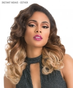 Sensationnel  Synthetic Half Wig - INSTANT WEAVE GLAM - ESTHER