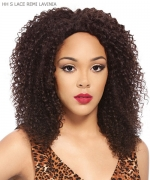 It's a wig Remi Human Hair Lace Front Wig - HH LAVINIA