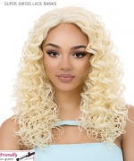 It's a wig Synthetic  Lace Front - SUPER SWISS LACE BANKS