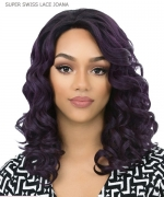It's a wig Synthetic  Lace Front - SUPER SWISS LACE JOANA