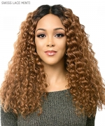 It's a wig Synthetic  Lace Front Wig - SWISS LACE MINTI
