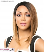 It's a wig Synthetic Lace Front Wig - SWISS LACE NIKKITA