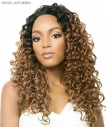 It's a wig Synthetic Lace Front Wig- SWISS LACE NOMA