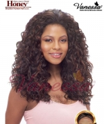 Vanessa Human Hair Blend Lace Front Wig - HONEY TOMBIS