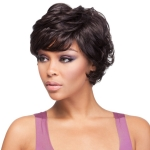 It's a wig Futura Synthetic Quality Human Hair Premium Mix Wig - HH CAROLINA