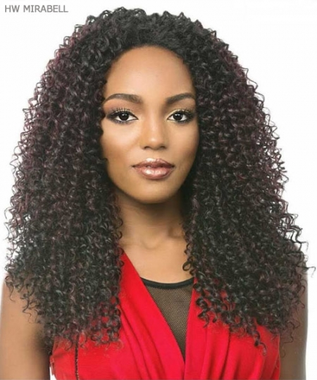 It's a wig Synthetic Half Wig - HW MIRABELL
