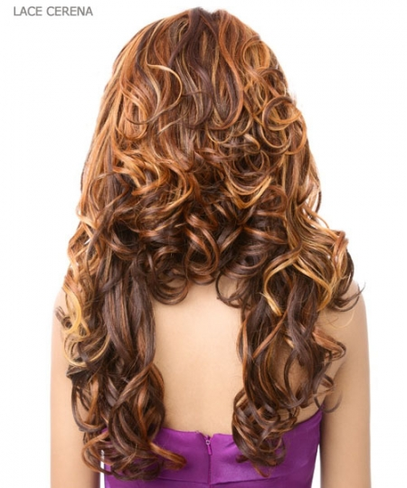 It's a wig Synthetic  Lace Front - LACE CERENA