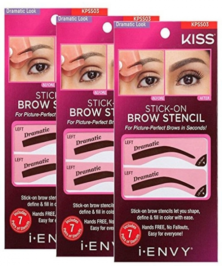 Ruby Kisses IENVY STICK-ON BROW STENCIL