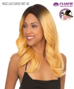 New Born Free Lace Front Wig - MAGIC LACE CURVED PART 185