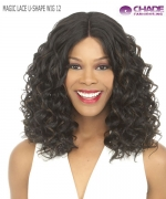 New Born Free Lace Front Wig - MAGIC LACE U-SHAPE WIG 12 (with Silk Base)
