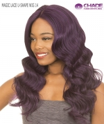 New Born Free Lace Front Wig - MAGIC LACE U-SHAPE WIG 14 (with Silk Base)