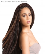 Sensationnel  Synthetic Braid - AFRICAN COLLECTION - 3X BOX BRAID 20