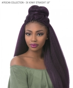 Sensationnel  Synthetic Braid - AFRICAN COLLECTION - 3X KINKY STRAIGHT 18
