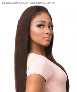 Sensationnel  Remi Human Hair Weave Extention - BARE&NATURAL STRAIGHT LACE FRONTAL 121416