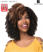 Sensationnel  Synthetic Braid - CURLFINITY - GREY ROD 10