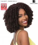 Sensationnel  Synthetic Braid - CURLFINITY - ORANGE ROD 10