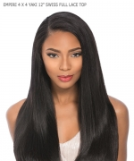 Sensationnel  Human Hair Hair Weaving - EMPIRE 4 X 4 YAKI 12