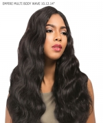Sensationnel 3 pcs + closure Human Hair Weave Extention - EMPIRE MULTI BODY WAVE 101214