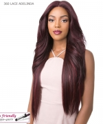 It's a wig Human Hair Blend   Lace Front - 360 LACE DEEP ADELINDA