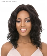 It's a wig Human Hair  Lace Front - LACE FULL HH ADAGIO