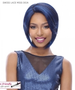 It's a wig Synthetic  Lace Front - SWISS LACE MISS DEJA