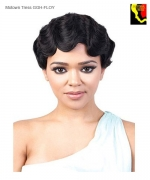 Motown Tress Full Wig GGH-FLOY - Human Hair GOGIRL CURLABLE WIG