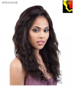 Motown Tress  HPSLK. DOVE - 100% Persian Unprocessed Remi Human Hair Lace Front Wig