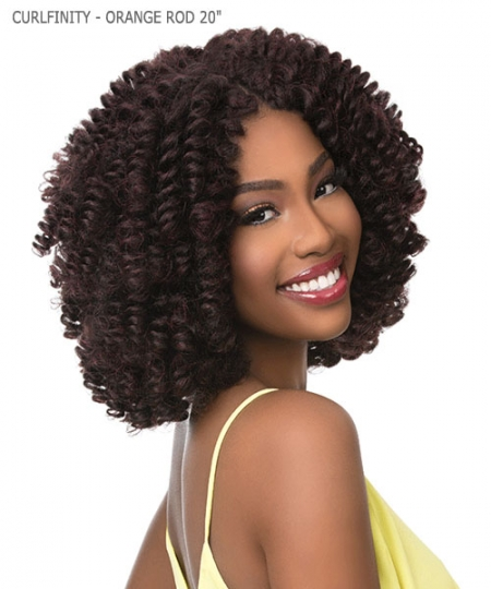 Sensationnel  Synthetic Braid - CURLFINITY - ORANGE ROD 20