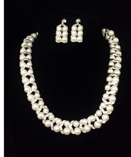 Necklace and Earrings Set  S12214