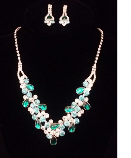 Necklace and Earrings Set  S14561