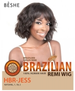 Beshe  Human Hair Full Wig - 100% Virgin Remi HBR-JESS