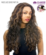 New Born Free Synthetic Lace Front Wig - MAGIC LACE CURVED PART MLC194