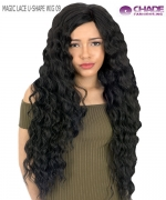 New Born Free Synthetic Lace Front Wig- MAGIC LACE U-SHAPE  MLU09