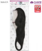 New Born Free Remi Human Hair Weave extention   - Brazilian Black Label 360 Frontal Straight