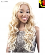 Motown Tress  SL.KORS - Synthetic HITEMP SWISS SILK Lace Front Wig