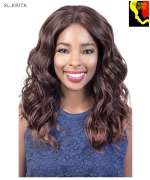 Motown Tress  SL.KRITA - Synthetic HITEMP SWISS SILK Lace Front Wig