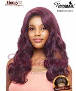 Vanessa TCHB KEMBY - Human Hair Blend HONEY-C Lace Front Wig