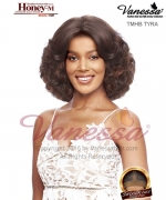 Vanessa TMHB TYRA - Human Hair Blend HONEY-M Lace Front Wig