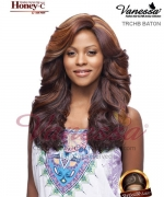 Vanessa TRCHB BATON - Human Hair Blend HONEY-C Lace Front Wig