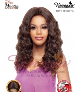 Vanessa TOPS M COLTIN - Synthetic SUPER MIDDLE LACE PART Lace Front Wig