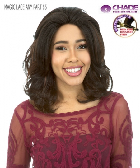 New Born Free Synthetic Lace Front Wig - MAGIC LACE ANY PART MLA66