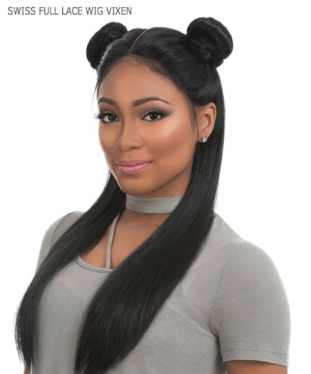 Sensationnel Human Hair Blend SWISS Lace Front Wig - CLOUD 9 SWISS Full Lace VIXEN
