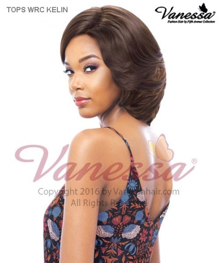 Vanessa TOPS WRC KELIN - Synthetic WIDER LACE PART  Lace Front Wig