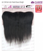 NEW BORN FREE Remi Human Hair Piece - ALI 13X4 Ear to Ear Frontal Closure Straight 10